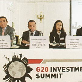 ECC's Olivier MARC guest speaker at the G20 Investment Summit