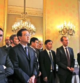 ECC facilite un projet d'envergure en présence de Ministres