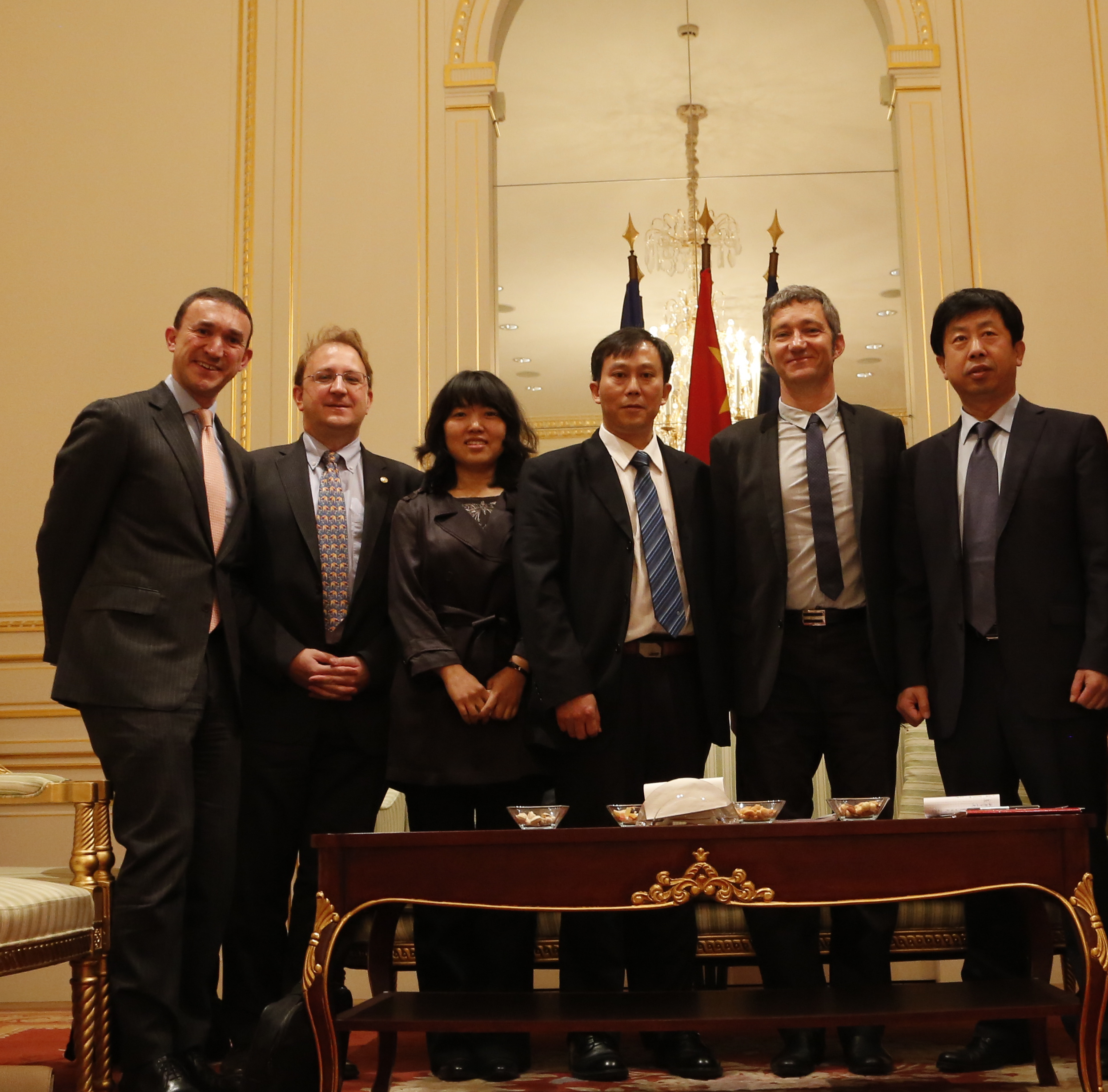 Agro-scientific meeting at the Chinese Embassy organized by ECC
