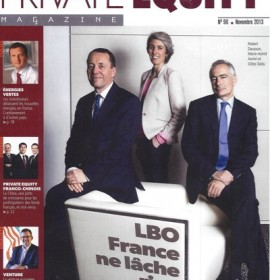Interview d'Olivier MARC dans Private Equity Magazine