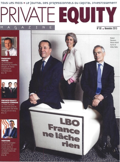 Interview of Olivier MARC in Private Equity Magazine