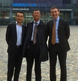 Rencontre avec le fond d'investissement chinois Beijing Capital Group