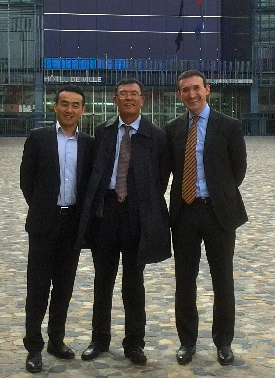 Meeting with the Chinese private equity fund Beijing Capital Group